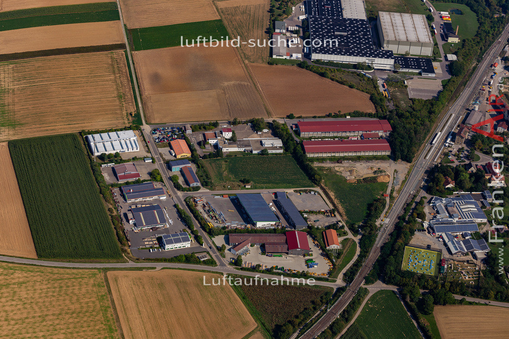 uffenheim-19-758 | aktuelles Luftbild von  Uffenheim - Luftaufnahme wurde 2019 von https://frankenair.de mittels Flugzeug (keine Drohne) erstellt.