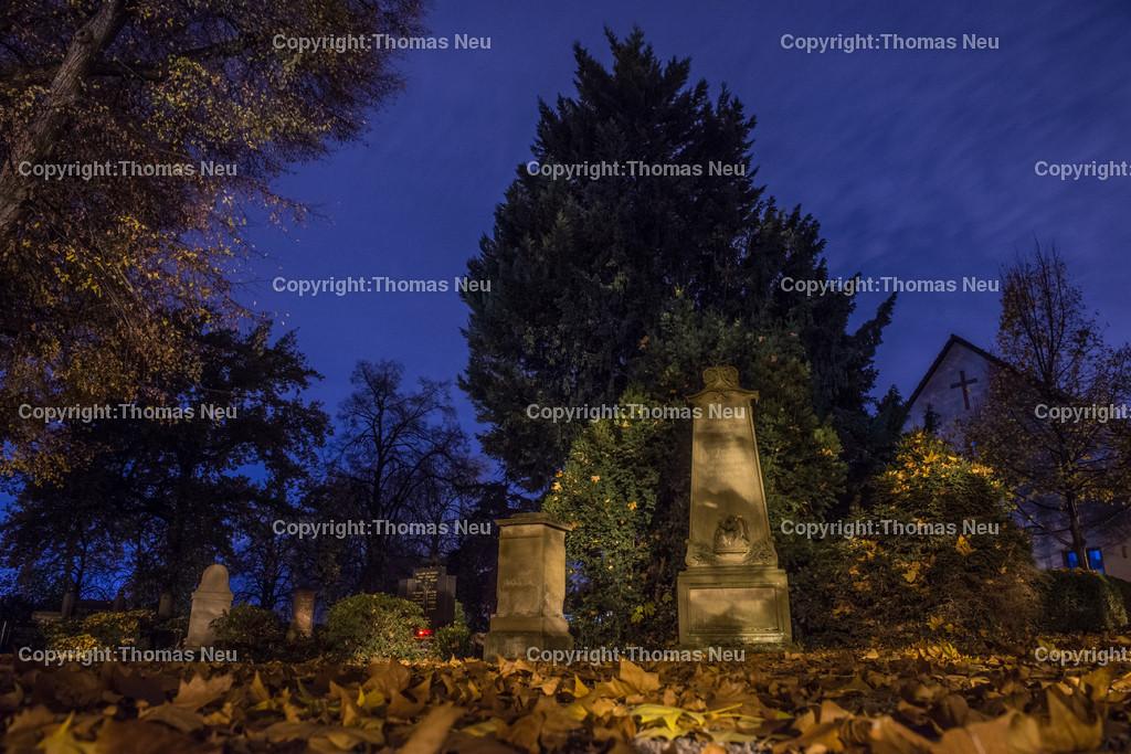 Friedhof-7 | Bensheim,Friedhof Mitte, Bergstrasse bei Nacht, ,, Bild: Thomas Neu