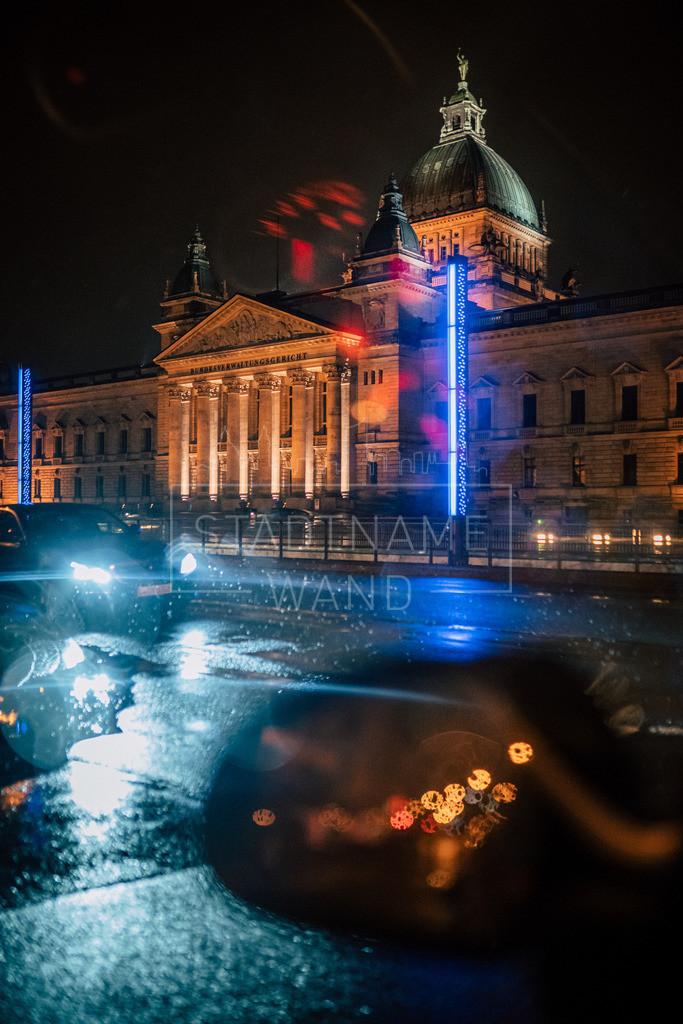 Nachts im Regen Leipzig (3)