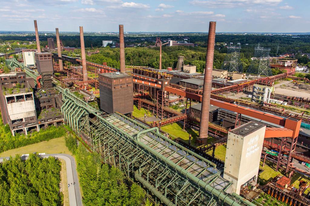 JT-140702-045 | Welterbe Zeche Zollverein, Kokerei Zollverein,