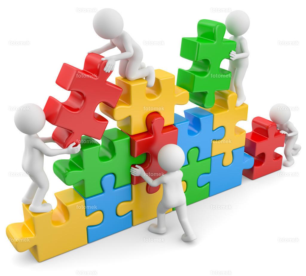 3d Männchen Puzzlebau