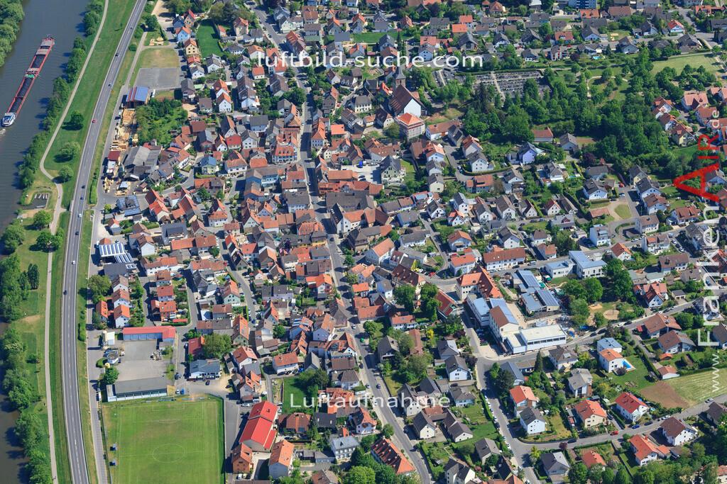 bischberg-18-331 | aktuelles Luftbild von  Bischberg - Luftaufnahme wurde 2018 von https://frankenair.de mittels Flugzeug (keine Drohne) erstellt.
