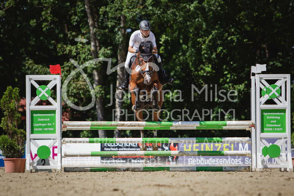 200819_Delbrück_Sprpf-A_2_1-207 | Delbrück Masters 2020 Springpferdeprüfung Kl. A** 4-6jährige Pferde