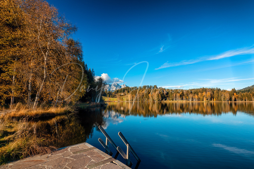 Schwarzsee | Herbst am Schwarzsee in Kitzbühel