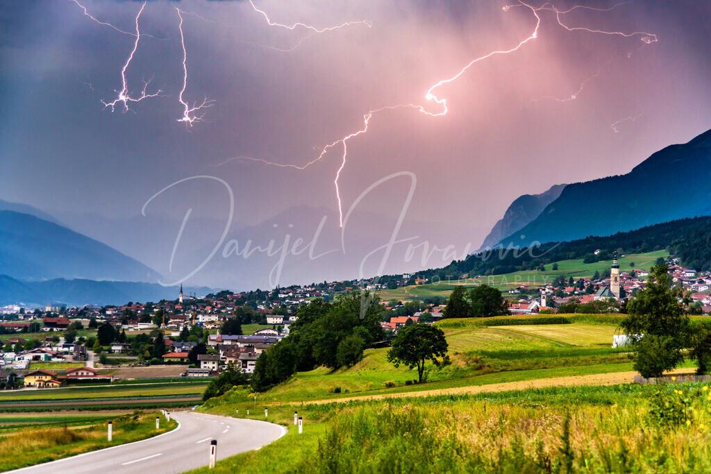 Gewitter | Blitze über Thaur