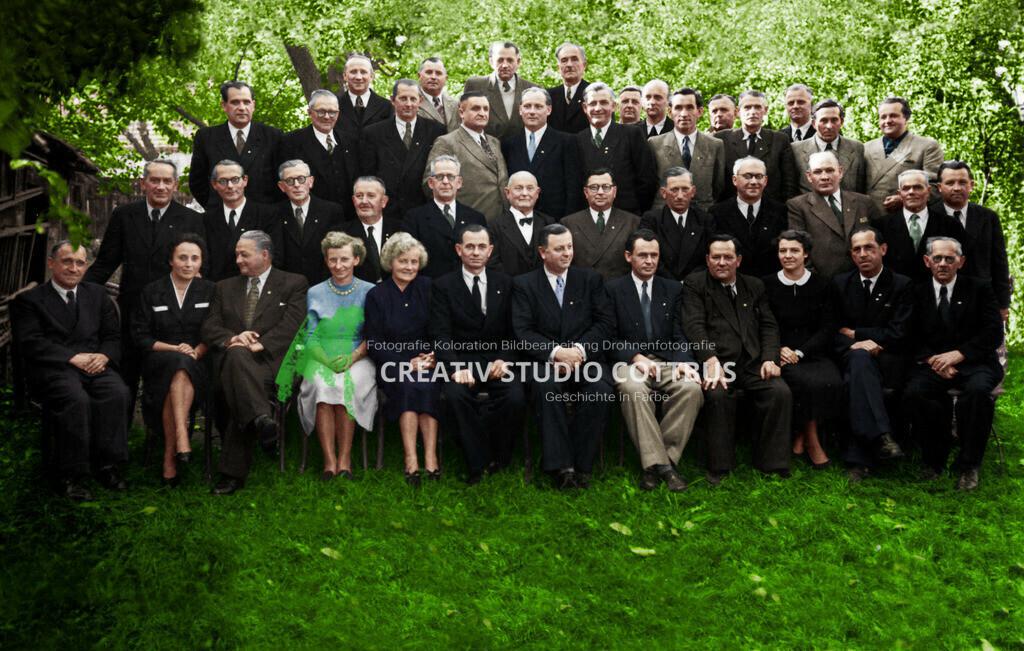 Vorstandssitzung Handwerkskammer Cottbus 1955