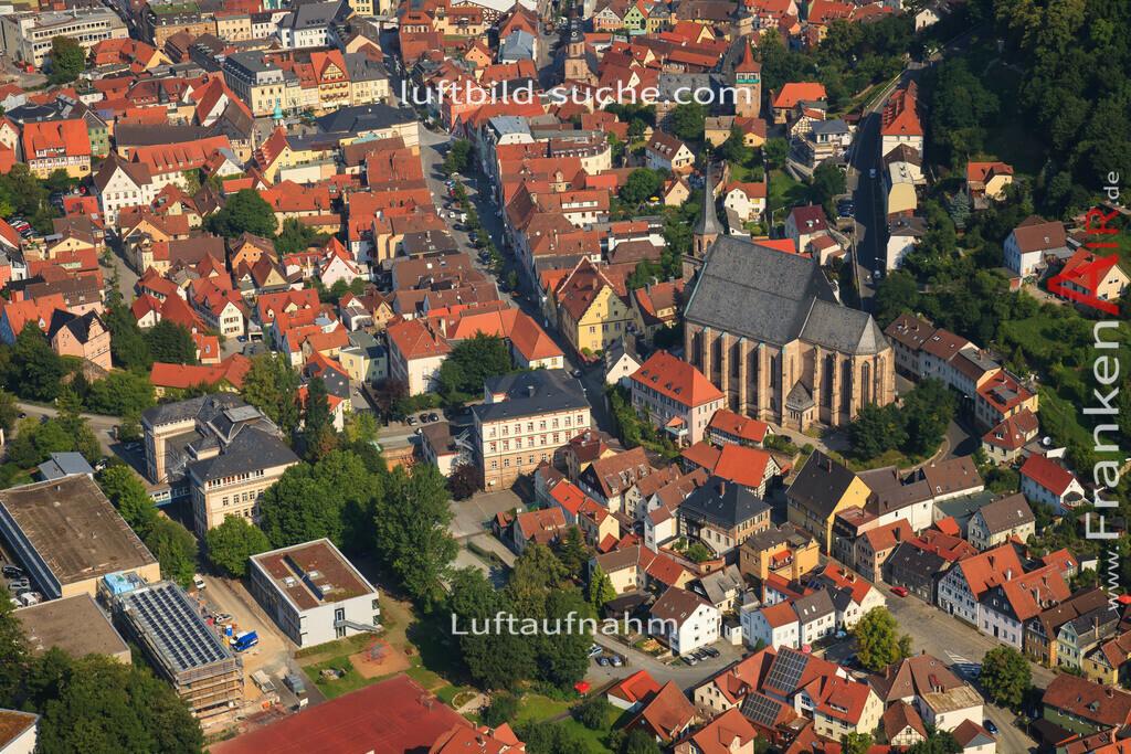 kirche-kulmbach-2012-2149 | Luftbild von Kirche Kulmbach - Luftaufnahme wurde 2012 von https://frankenair.de mittels Flugzeug (keine Drohne) erstellt - die Geschenkidee
