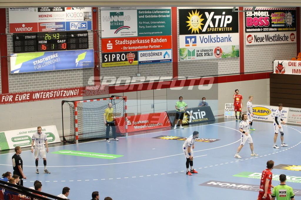 TUS N. Lübbecke - VFL Gummersbach   Spielszene - © by K-Media-Sports / Sportfoto-Sale.de