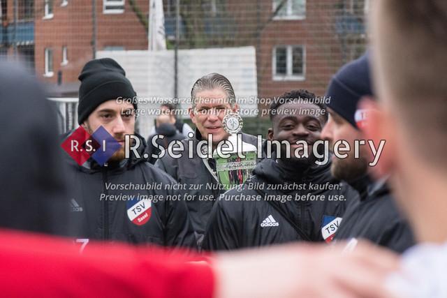 Fußball, Herren, Mercado Cup 2020, TSV Sasel (Oberliga) - FC Teutonia Ottensen 05 (Oberliga), Sportplatz Kreuzkirche, 02.02.2020