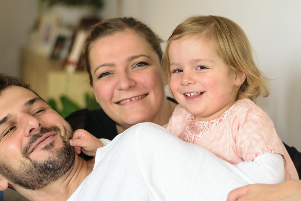 Matthias, Sophie und Marie   Family Homeshooting