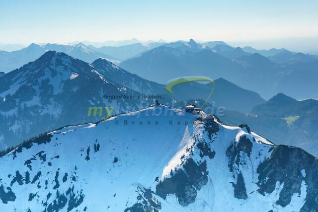 luftbild-hochfelln-bruno-kapeller-05 | Luftaufnahme vom Hochfelln 1674m