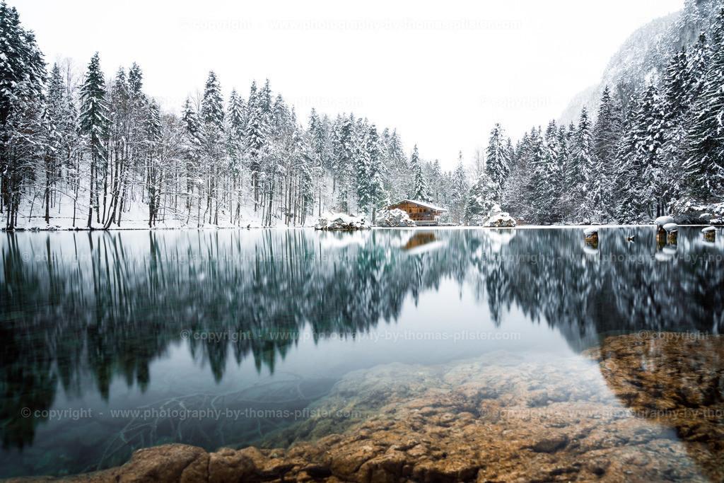 Berglsteiner See Schnee-1