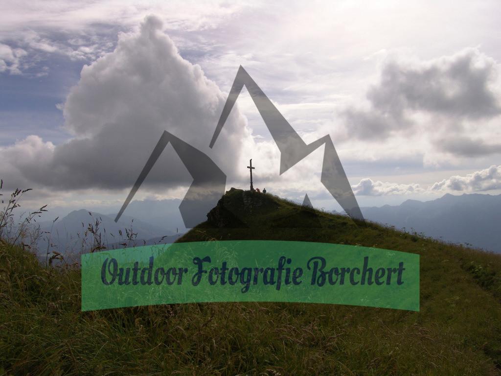 FIL8767 | Blick zum Gipfel des Hochgern 1748 m ü.NN, Chiemgauer Alpen, Bayern