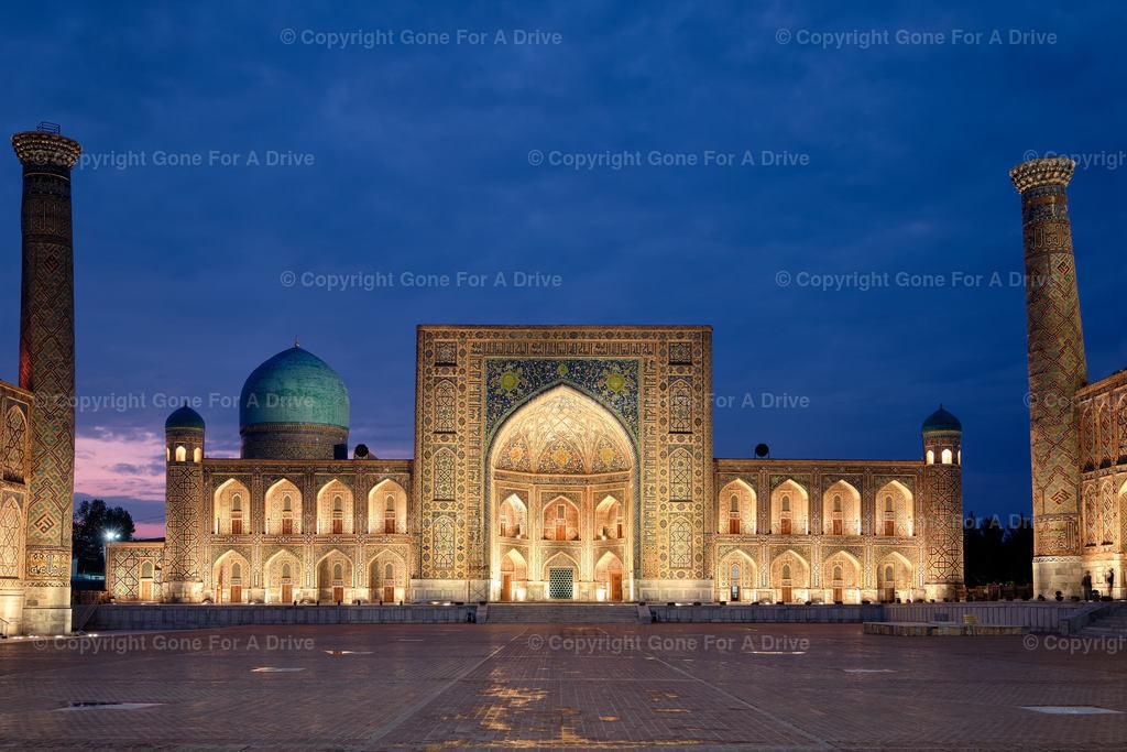 Usbekistan | Die Tilya-Kori-Medresse am Registan in Samarkand