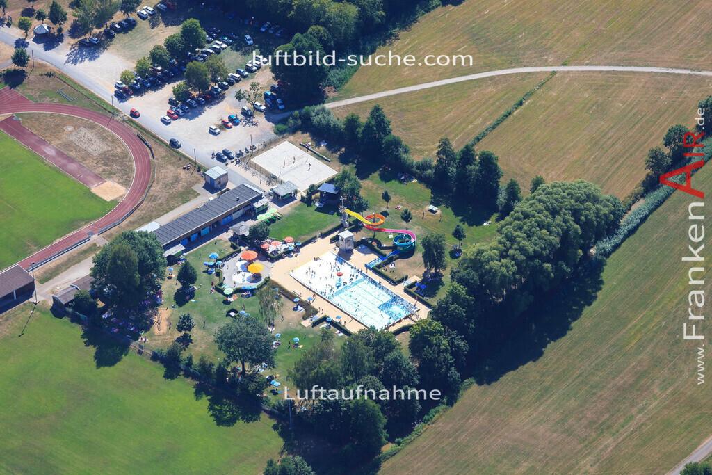 luftbild-schluesselfeld-2015-4987 | Luftbild von  Schluesselfeld - Luftaufnahme wurde 2015 von https://frankenair.de mittels Flugzeug (keine Drohne) erstellt - die Geschenkidee