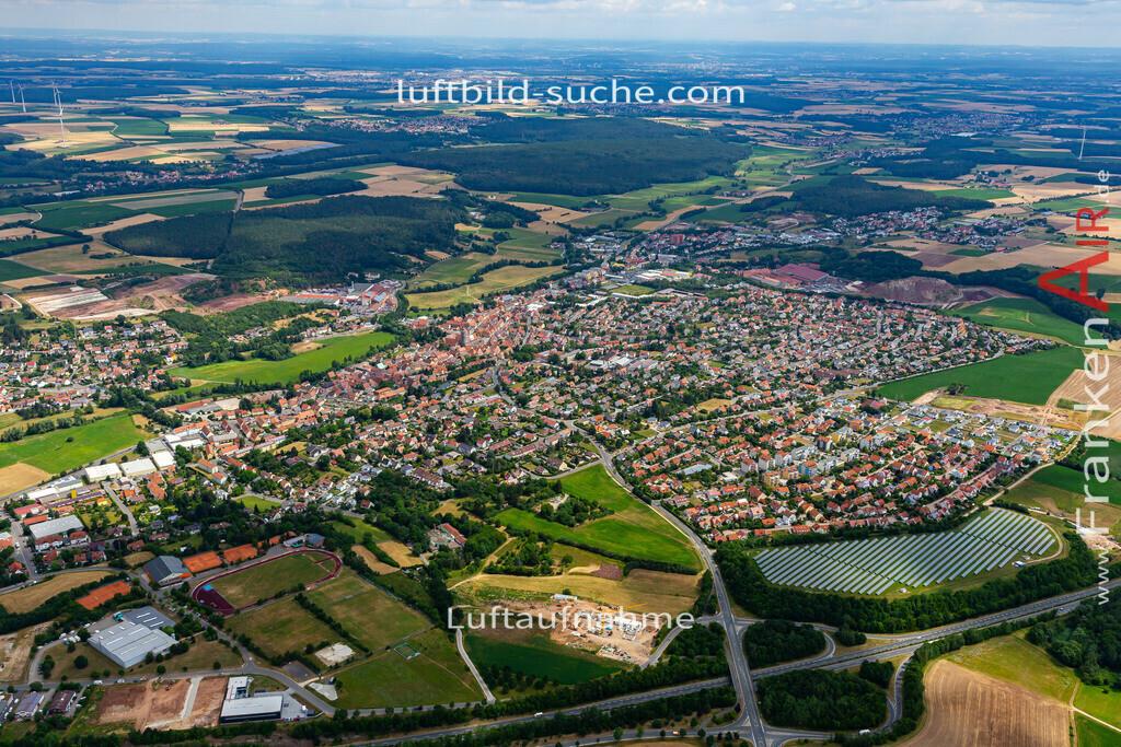 langenzenn-19-162 | aktuelles Luftbild von  Langenzenn - Luftaufnahme wurde 2019 von https://frankenair.de mittels Flugzeug (keine Drohne) erstellt.