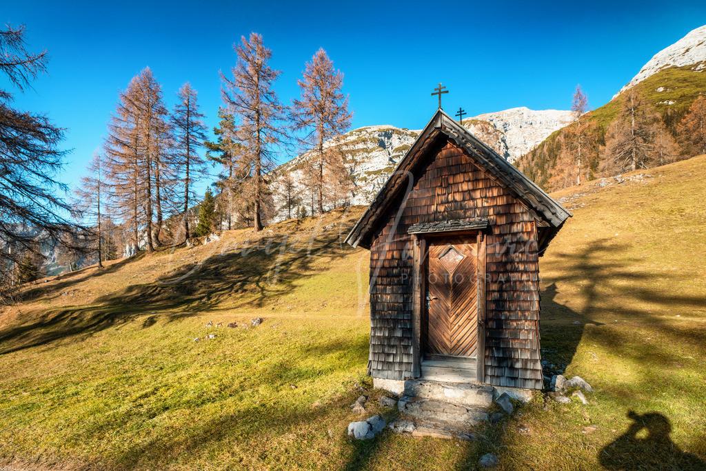 Karwendel | Holzkapelle im Karwendel