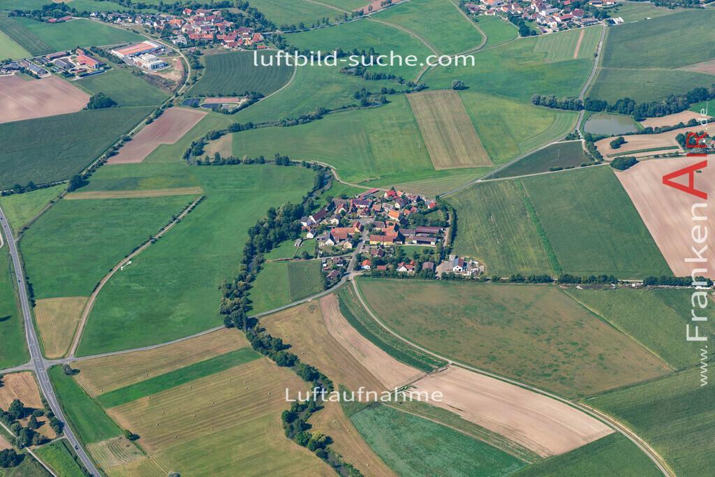 rappoldshofen-19-579   aktuelles Luftbild von Rappoldshofen   - Luftaufnahme wurde 2019 von https://frankenair.de mittels Flugzeug (keine Drohne) erstellt.