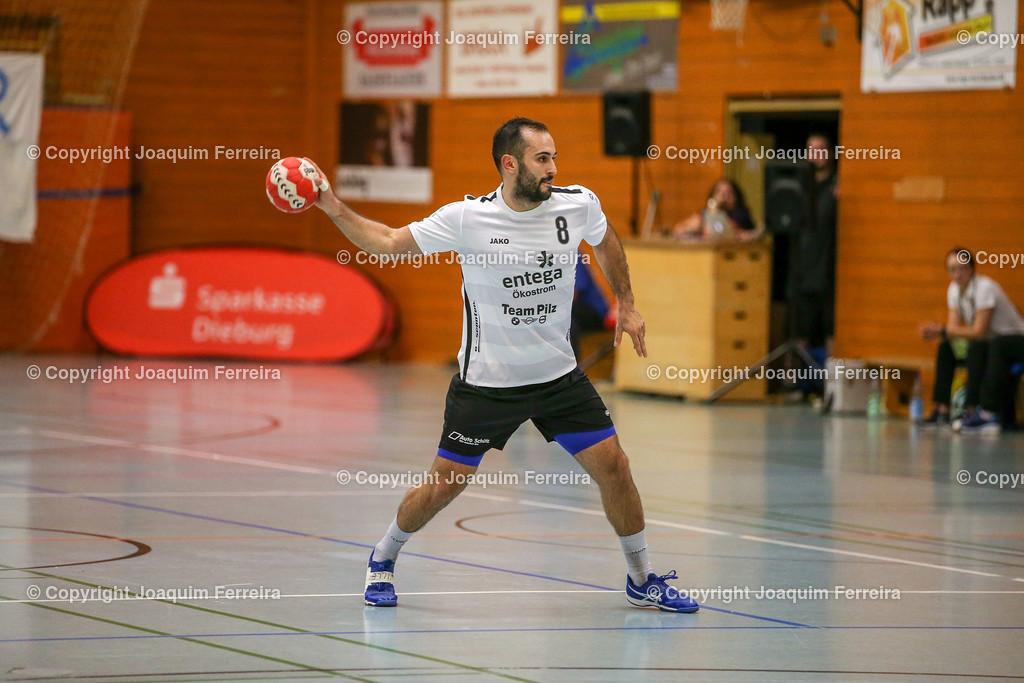 190913_msg_0232   despor 2019.09.13 HHV Handball Männer Oberliga MSG Umstadt/Habitzheim gegen TuS Dotzheim emspor, emonline, despor,  v.l.,  David Asic (MSG Umstadt/Habitzheim) Foto: Joaquim Ferreira
