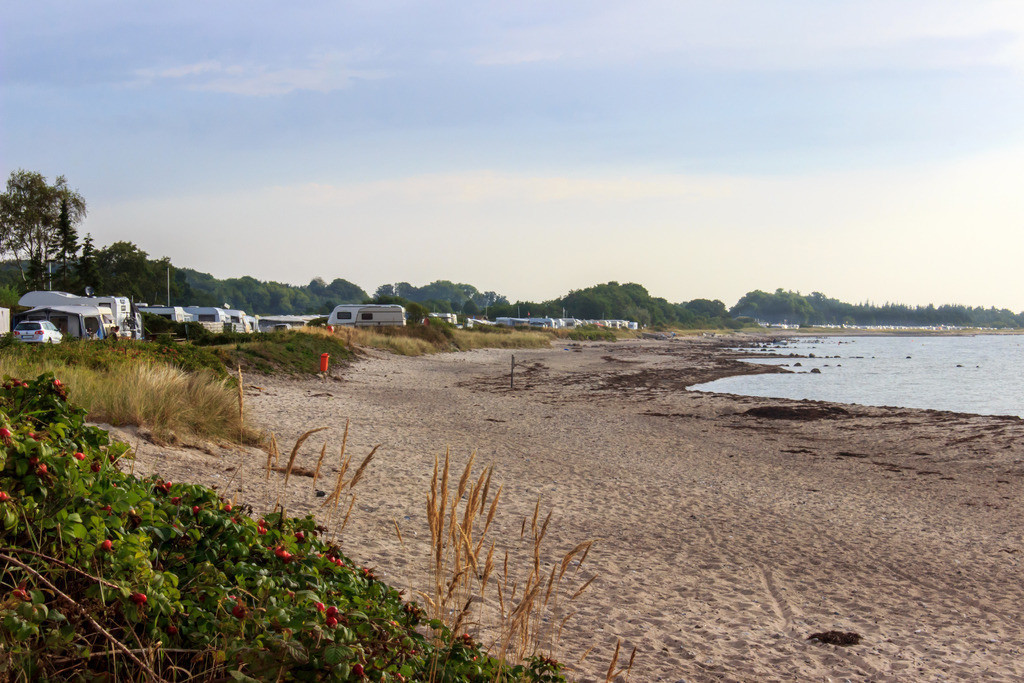 Strand in Karlsminde | Strand in Karlsminde im Sommer