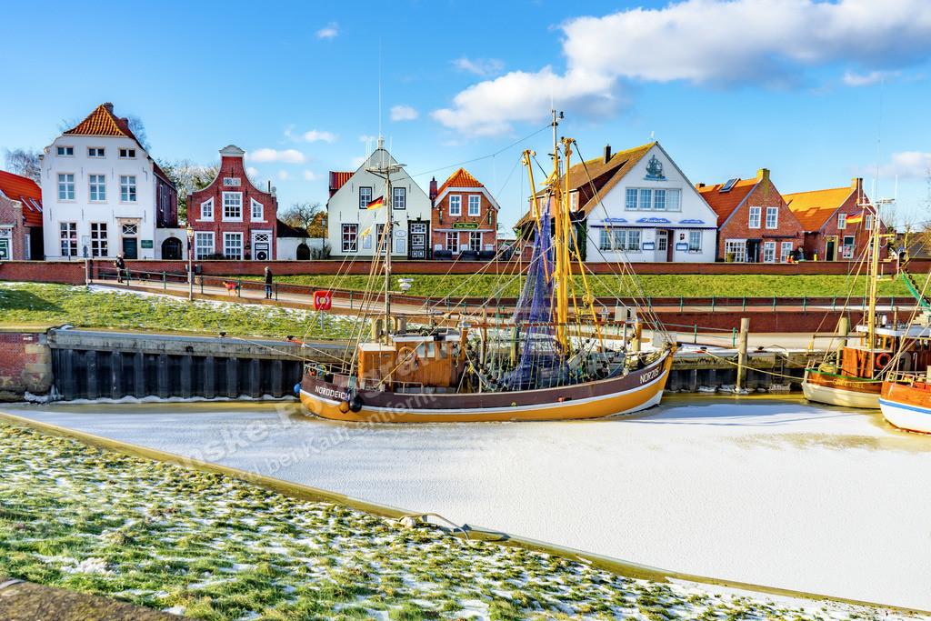 20210212-Hafen in Greetsiel Ostfriesland Krummhörn Winter 12 Februar 2021 _7