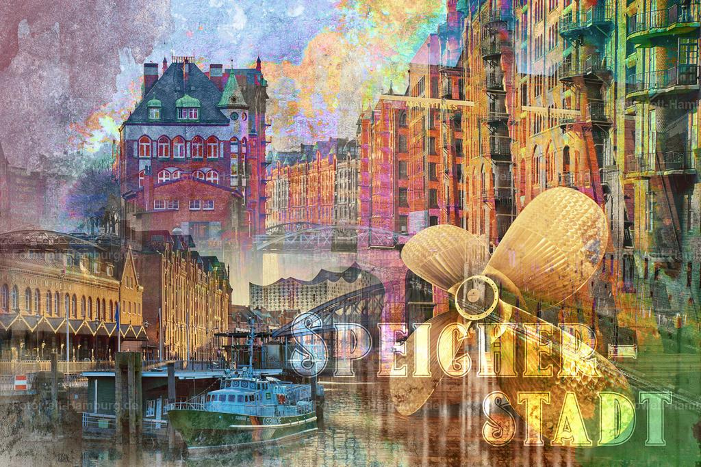 Speicherstadt Collage