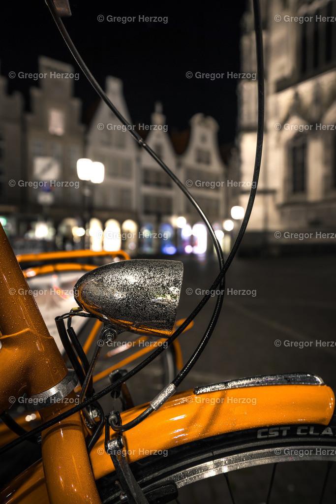 Coole Fahrradlampe | Münster City 2020