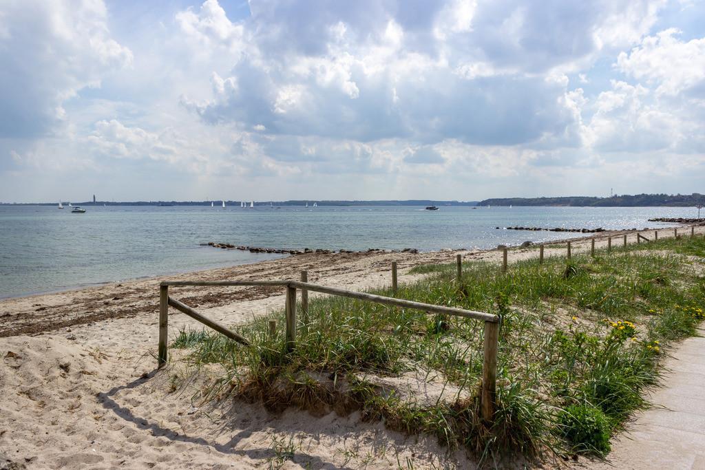 Strand in Strande | Strand in Strande im Frühling
