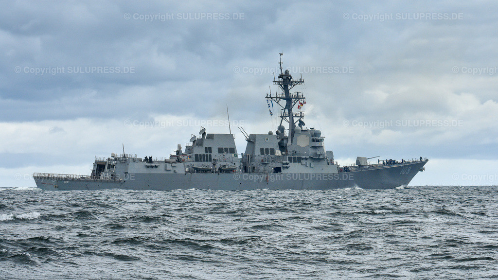 Zerstörer USS Jason Dunham DDG-109,