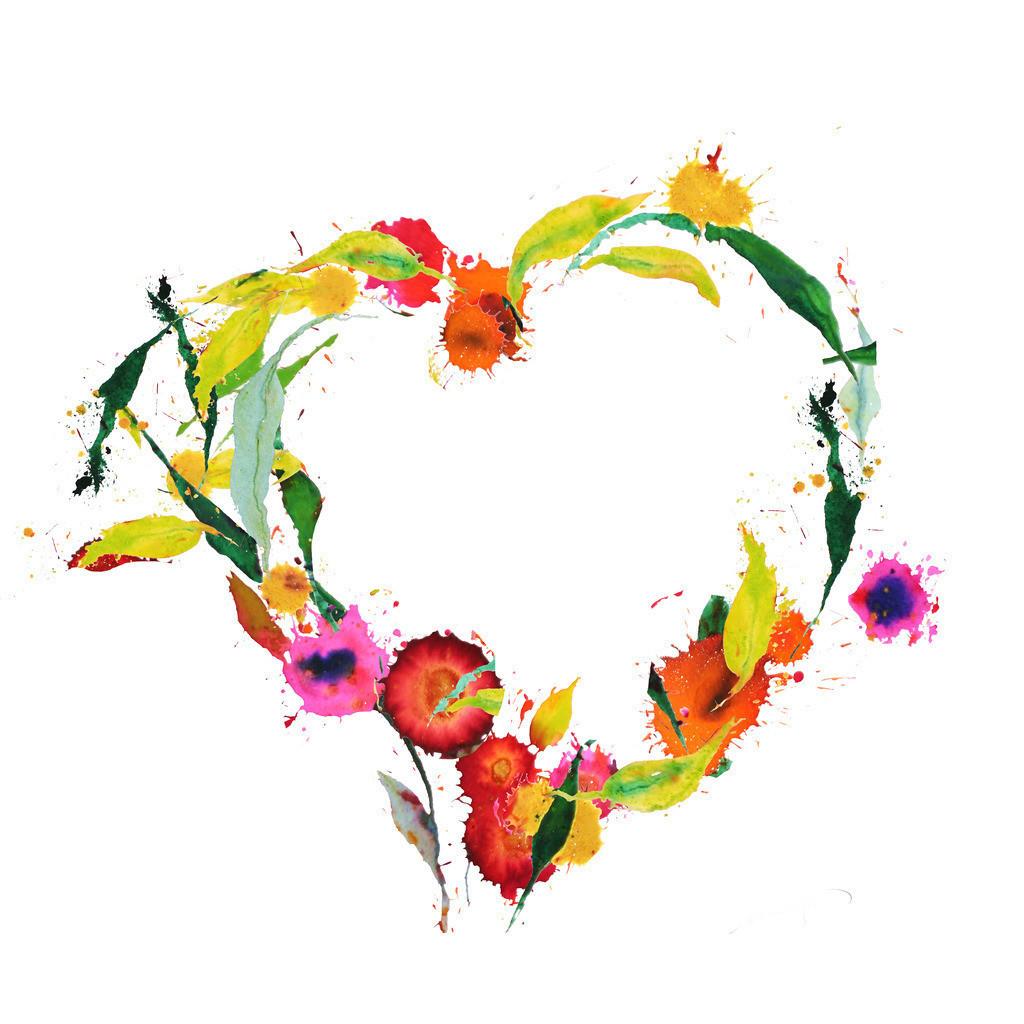 Blumenherz-weiss | Wer die Blümchen im Frühling betrachtet, wird liebvoll angelächelt.