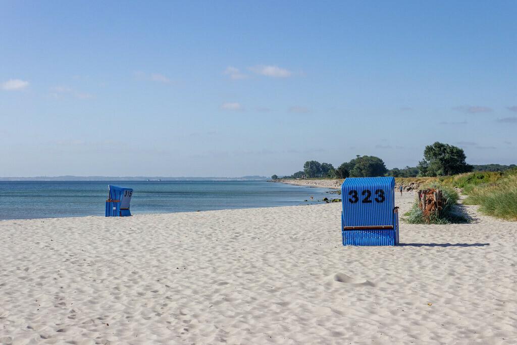 Strand in Damp | Strandkörbe am Strand in Damp