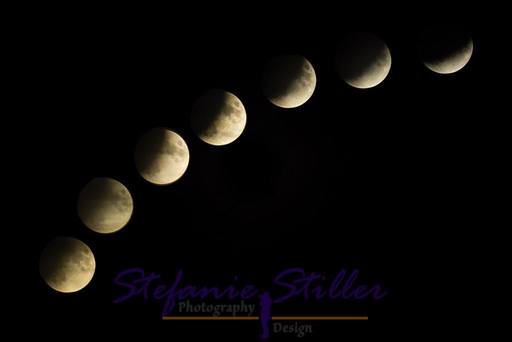 Phasen der Mondfinsternis