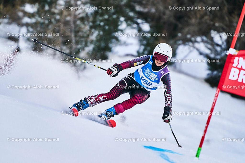 ALS5595_WWMG_GS-II_C   (C) FotoLois.com, Alois Spandl, WinterWorldMastersGames 2020 Innsbruck, Giant Slalom-II Gruppe C Damen, Patscherkofel Olympiaabfahrt, Mi 15. Jänner 2020.