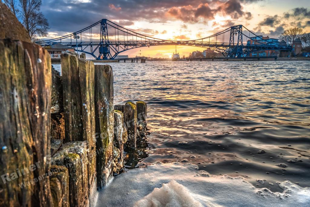20210327-Wilhelmshaven KW Brücke Sonnenuntergang 27 März 2021 _4 Kopie