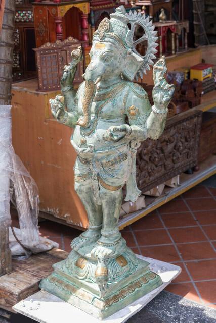 Singapur Little India Ganesha-Figur | SGP, Singapur, Singapur, 22.02.2017, Singapur Little India Ganesha-Figur © 2017 Christoph Hermann, Bild-Kunst Urheber 707707, Gartenstraße 25, 70794 Filderstadt, 0711/6365685;   www.hermann-foto-design.de ; Contact: E-Mail ch@hermann-foto-design.de, fon: +49 711 636 56 85