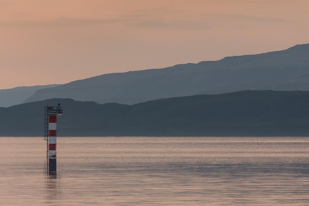 Boje an der schottischen Küste