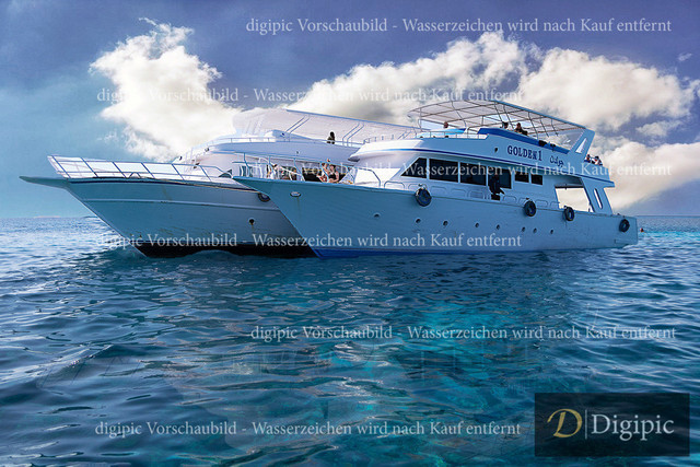 Hurghada_Jänner 2020_624Bv   Ausflugsschiffe am Roten Meer