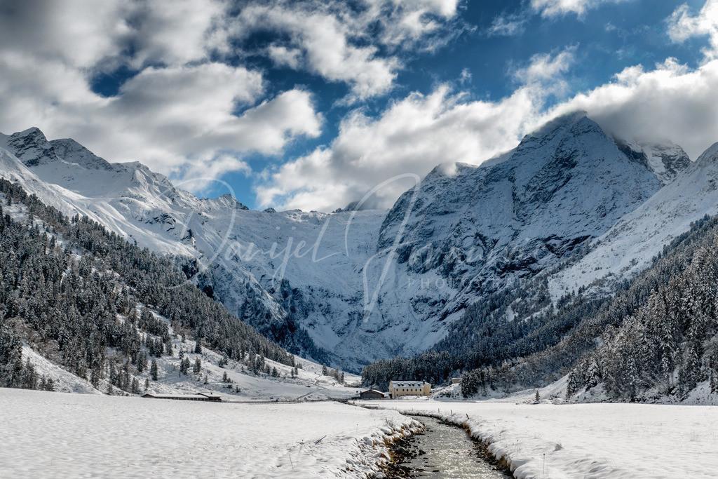 Lüsens | Erster Schnee im Lüsener Gletschertal