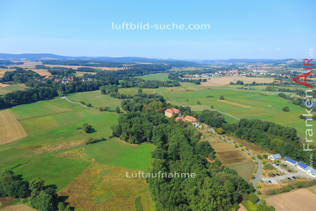 kulmbach-2015-2789   Luftbild von  Kulmbach - Luftaufnahme wurde 2015 von https://frankenair.de mittels Flugzeug (keine Drohne) erstellt - die Geschenkidee