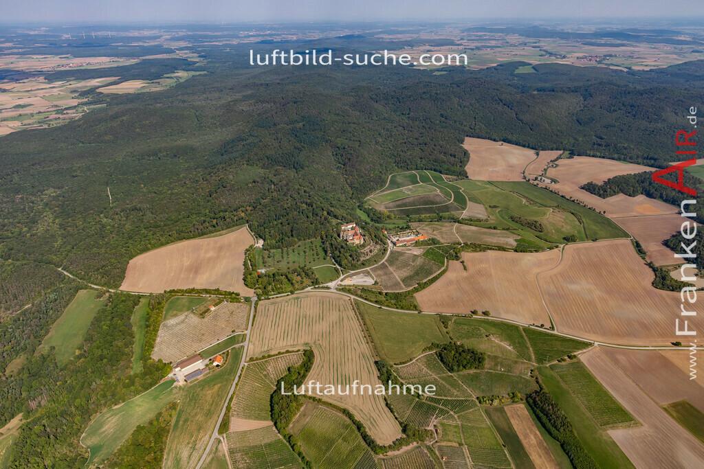schloss-frankenberg-19-810 | aktuelles Luftbild von Schloss  Frankenberg - Luftaufnahme wurde 2019 von https://frankenair.de mittels Flugzeug (keine Drohne) erstellt.