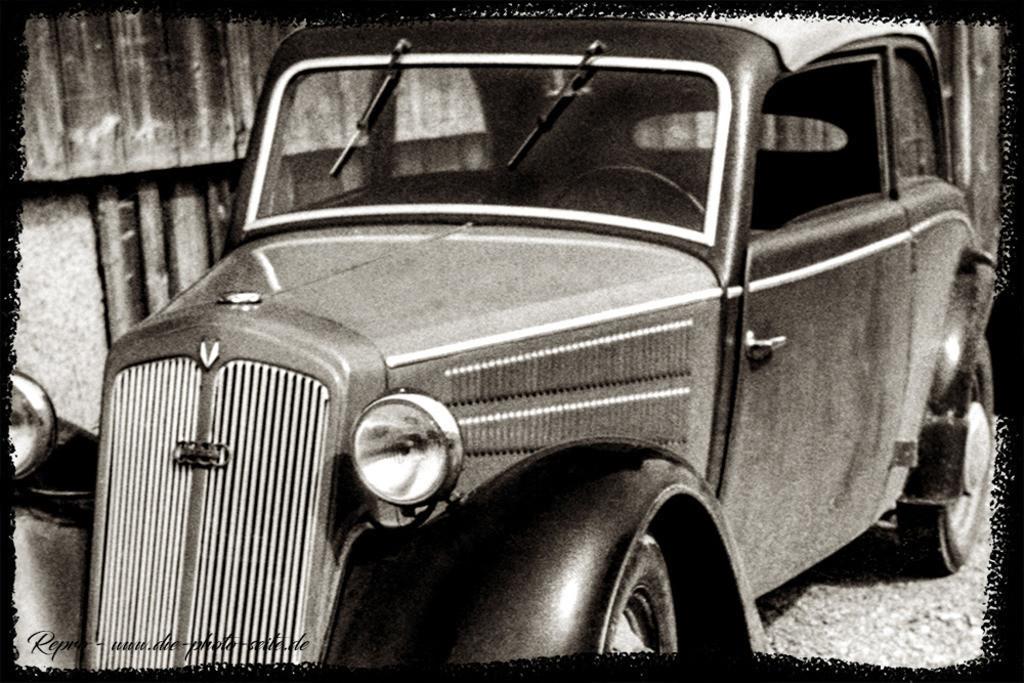 DKW F7 Cabrio | DKW F7 Cabrio von ca. 1937 aus den Audi Werken Zwickau