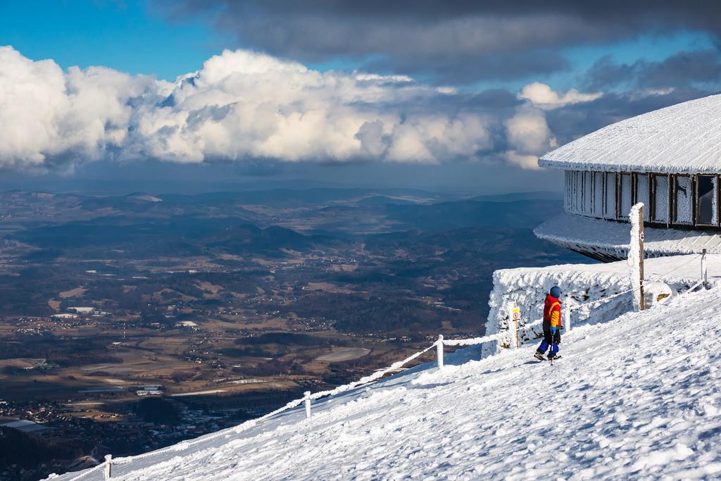 rk_05755 | Blick von der Schneekoppe im Riesengebirge in Tschechien.