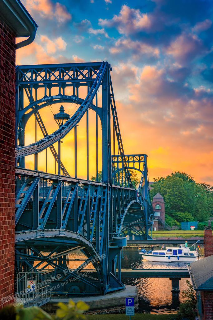 20210607-KW Brücke im Sonnenuntergang 2514