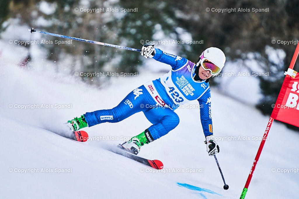 ALS5796_WWMG_GS-II_C | (C) FotoLois.com, Alois Spandl, WinterWorldMastersGames 2020 Innsbruck, Giant Slalom-II Gruppe C Damen, Patscherkofel Olympiaabfahrt, Mi 15. Jänner 2020.