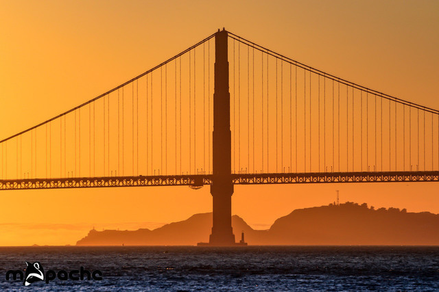 The Golden Gate Bridge | Sunset at the Golden Gate Bridge
