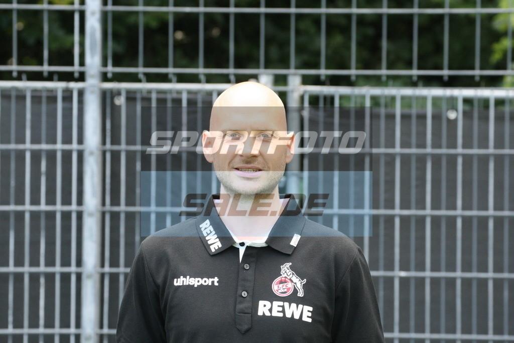 1. FC Köln Fotoshooting | Christian Osebold - © Sportfoto-Sale (MK)