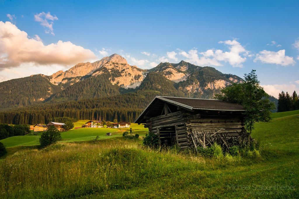 Sonnenuntergang im Lesachtal  | Sonnenuntergang im Lesachtal  in Kärnten