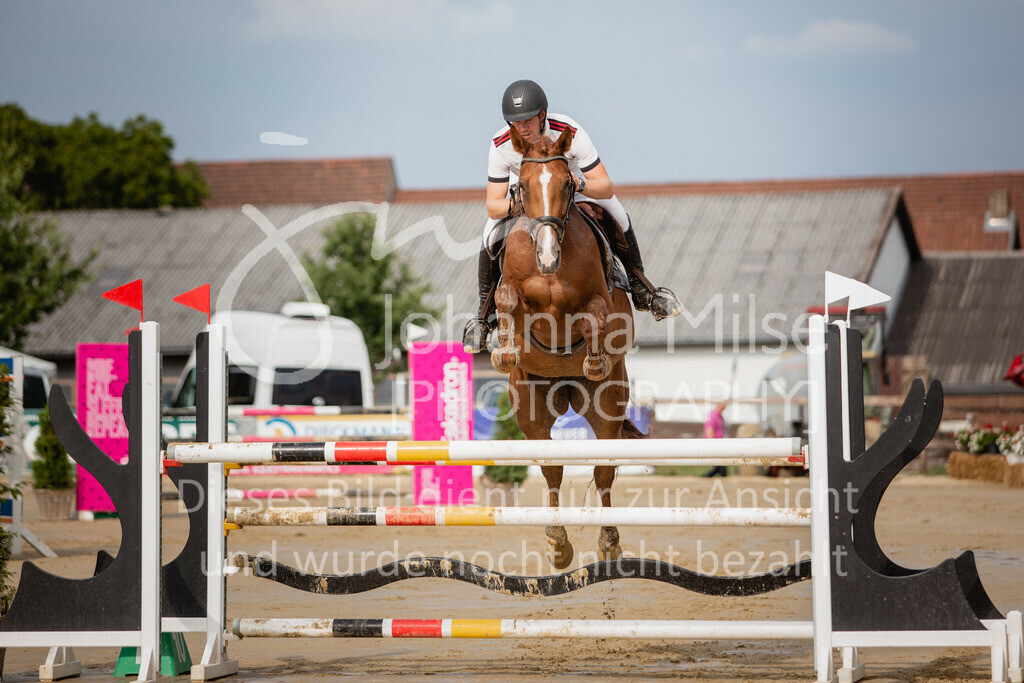 190801_BST_Springpferde-M_5-7J-411 | Braker Sommerturnier 2019 Springpferdeprüfung Kl. M* 5-7jährige Pferde