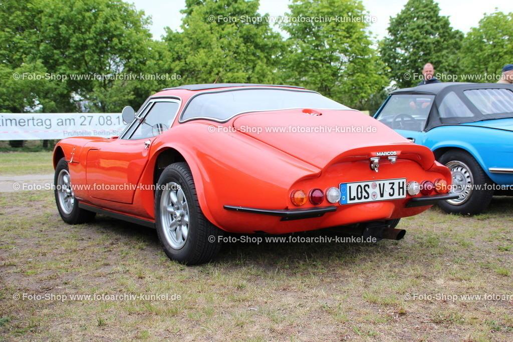 Marcos 3 Litre Coupé 2 Türen (Volvo-B30-Motor), 1970 | Marcos 3 Litre Coupé 2 Türen, Farbe: Rot, Baujahr 1970, Volvo-B30-Motor, 6-Zylinder-Reihenmotor, Leistung: 130 PS, GB, UK, Großbritannien, United Kingdom