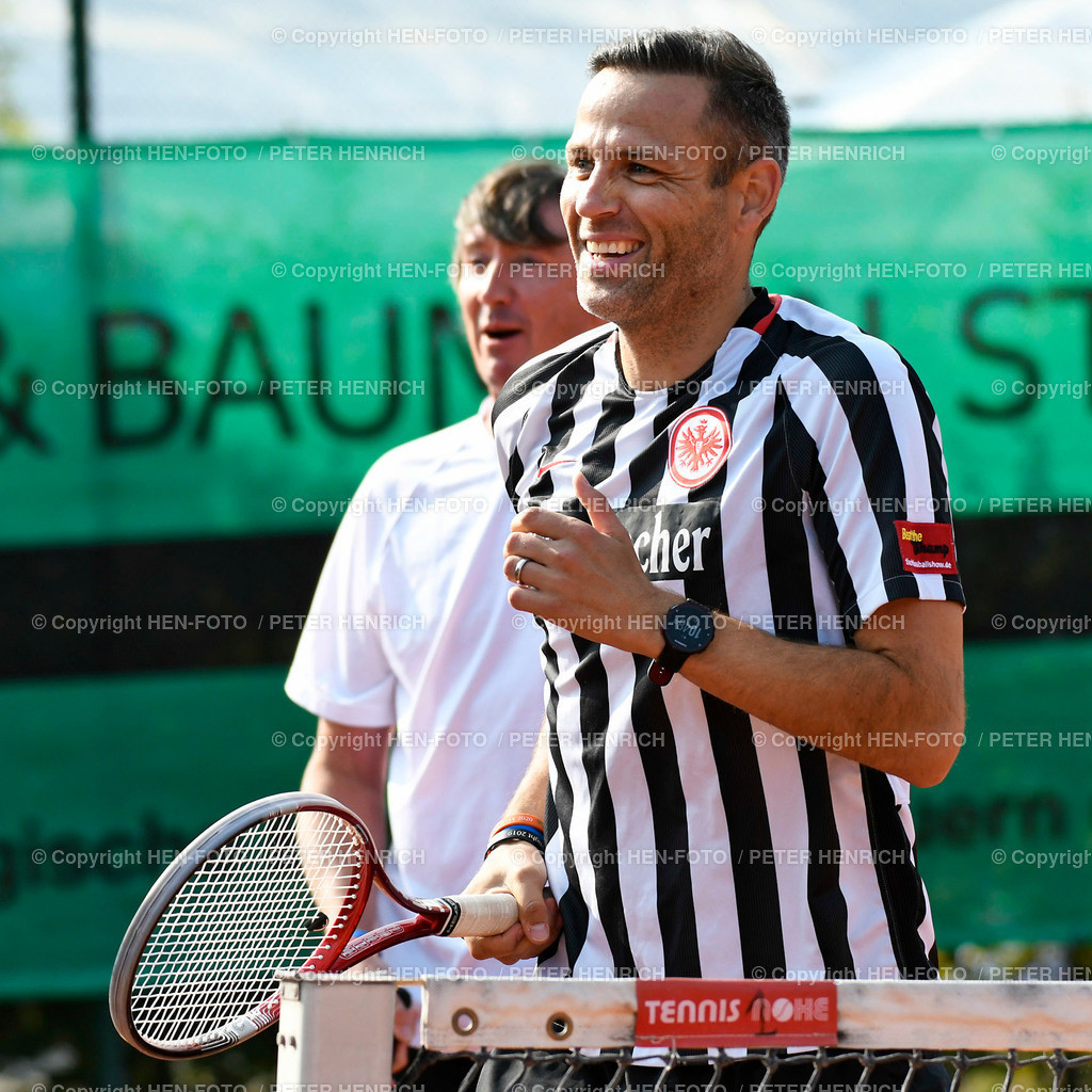 Tennis Charity Trophy TEC Darmstadt 20200912 copyright by HEN-FOTO | Tennis Charity Trophy TEC Darmstadt 20200912 DUMUSSTKÄMPFEN - li Bernd Karbacher - re Philipp Marx - copyright by HEN-FOTO / Foto: Peter Henrich